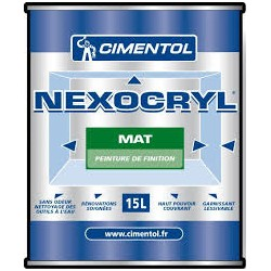 NEXOCRYL SATIN BLANC 15L